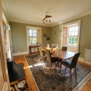 Dining Room at Culgower House for Brora B&B